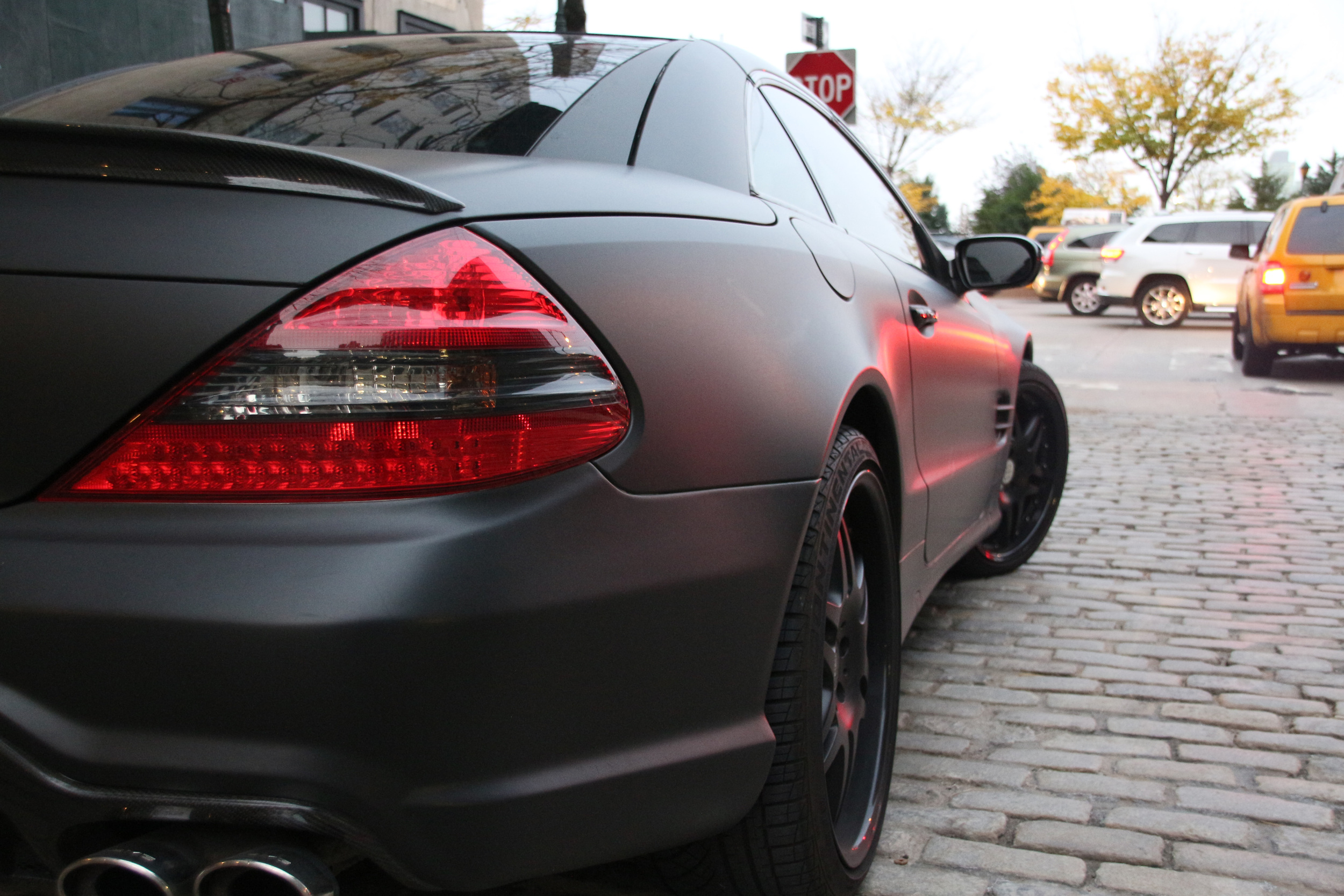 Mercedes SL 550 - 3M 1080 Matte Black