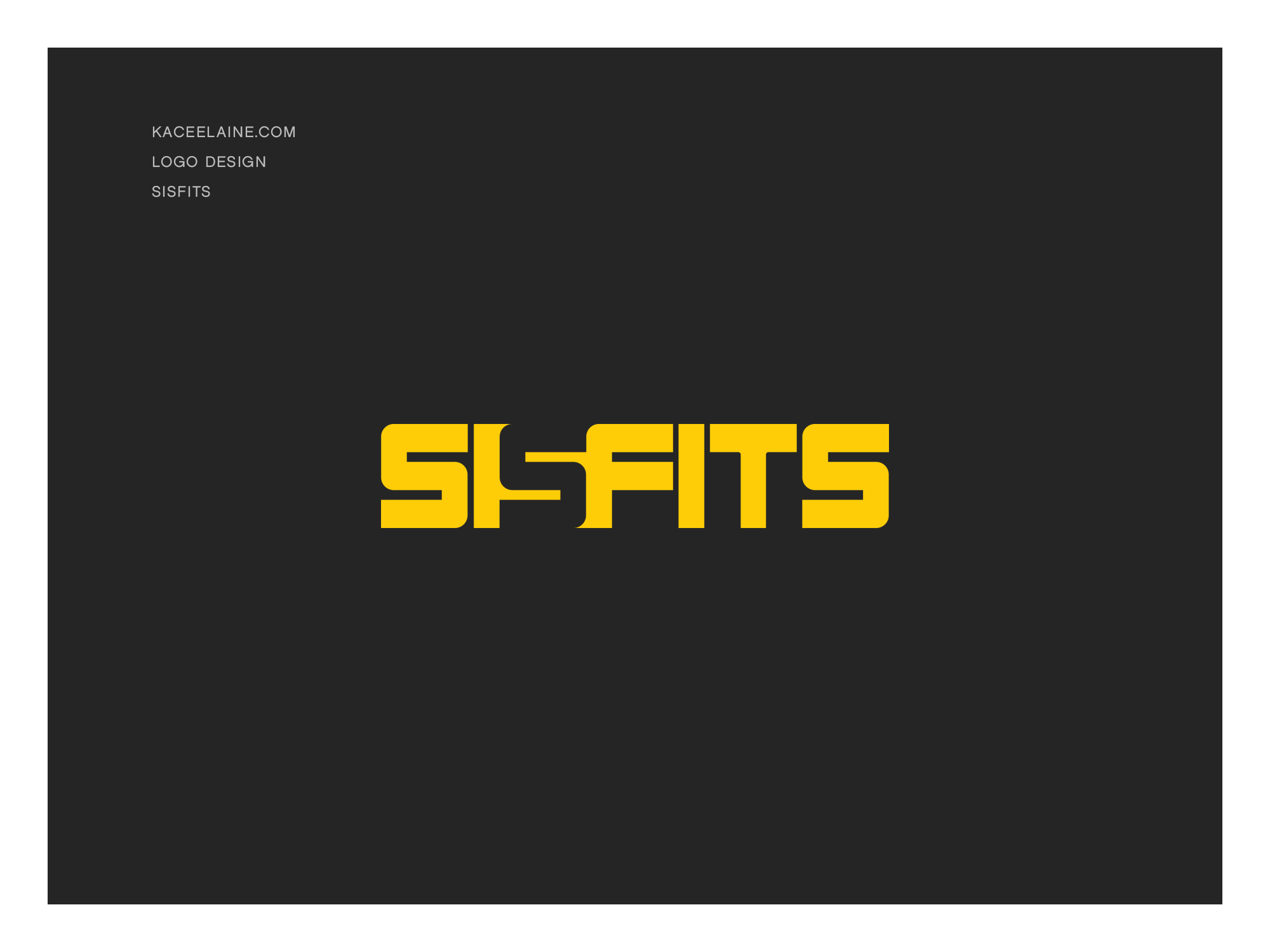 Logo Design for Sisfits