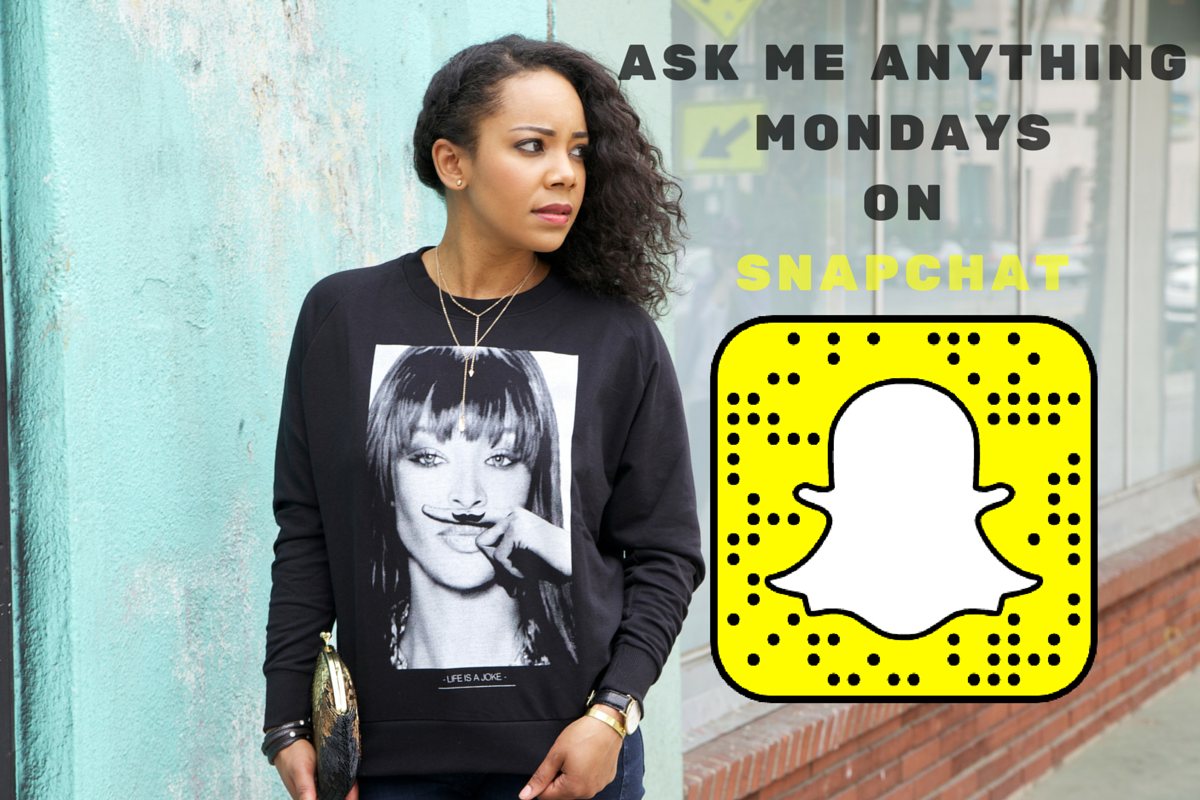 Ask Me Anything Monday