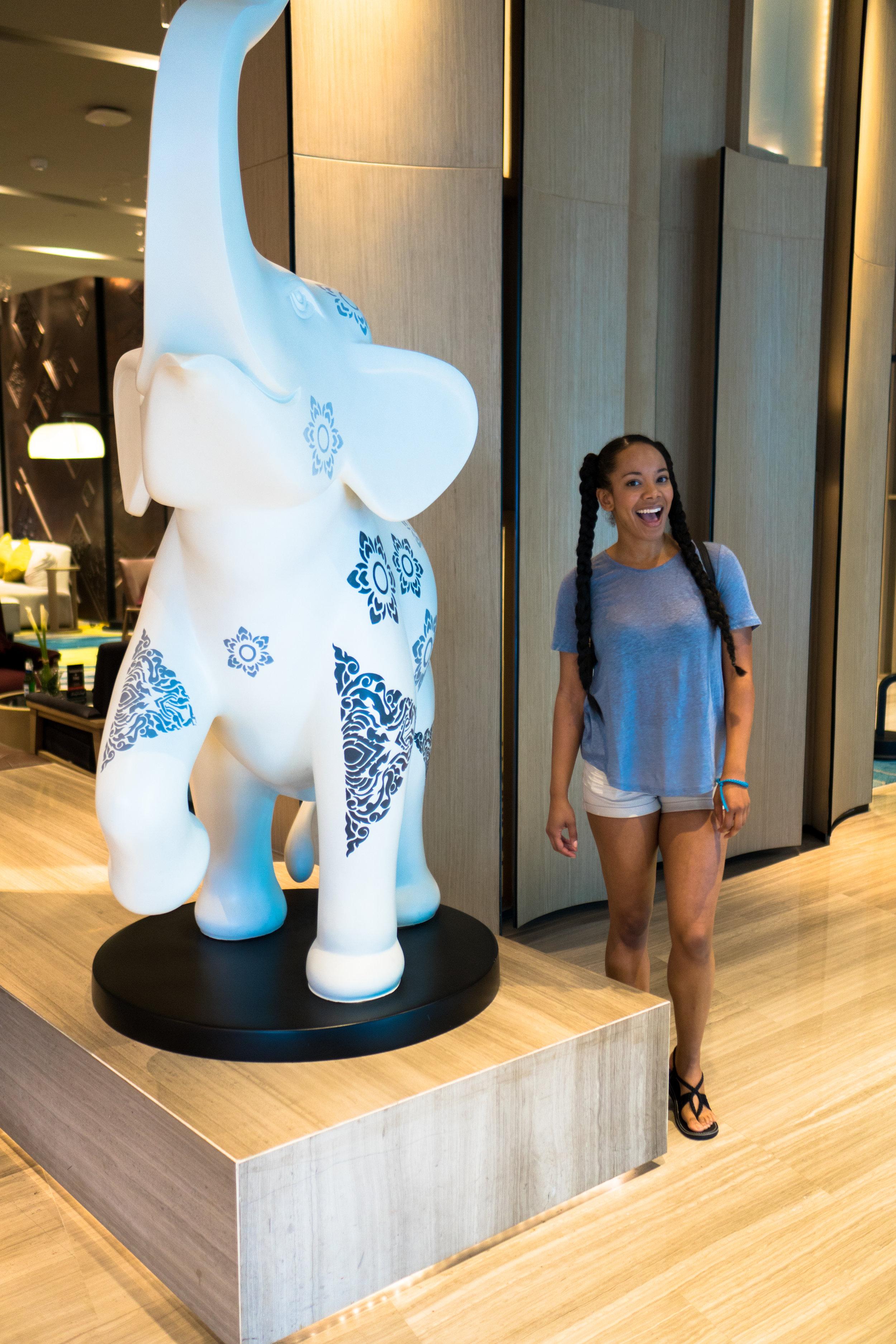 Novotel Hotel Lobby