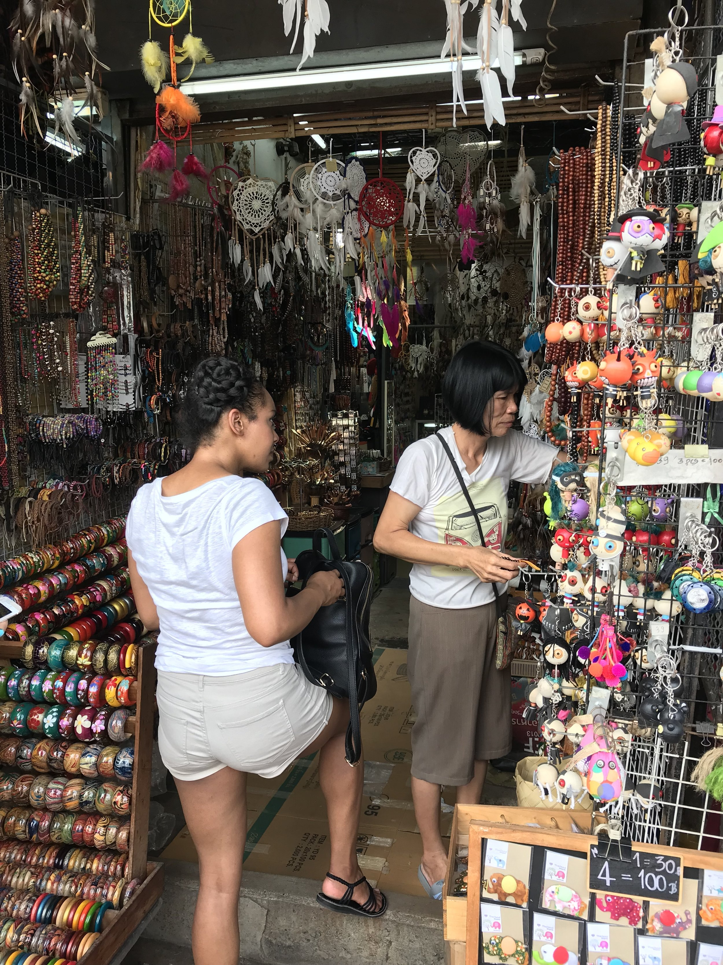 Bartering at Chatuchak Weekend Market