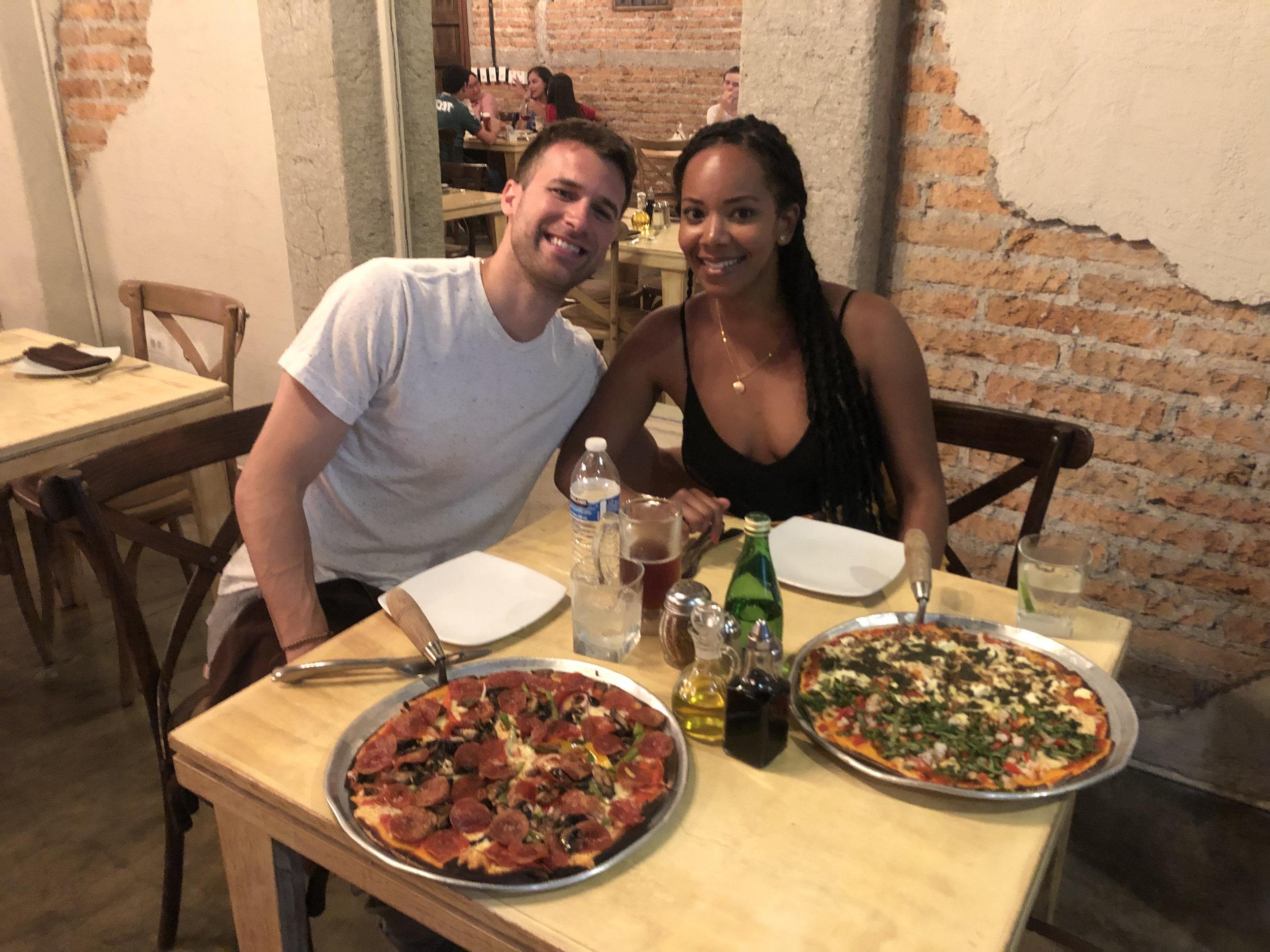 Photo: My Boyfriend and I at Basilio
