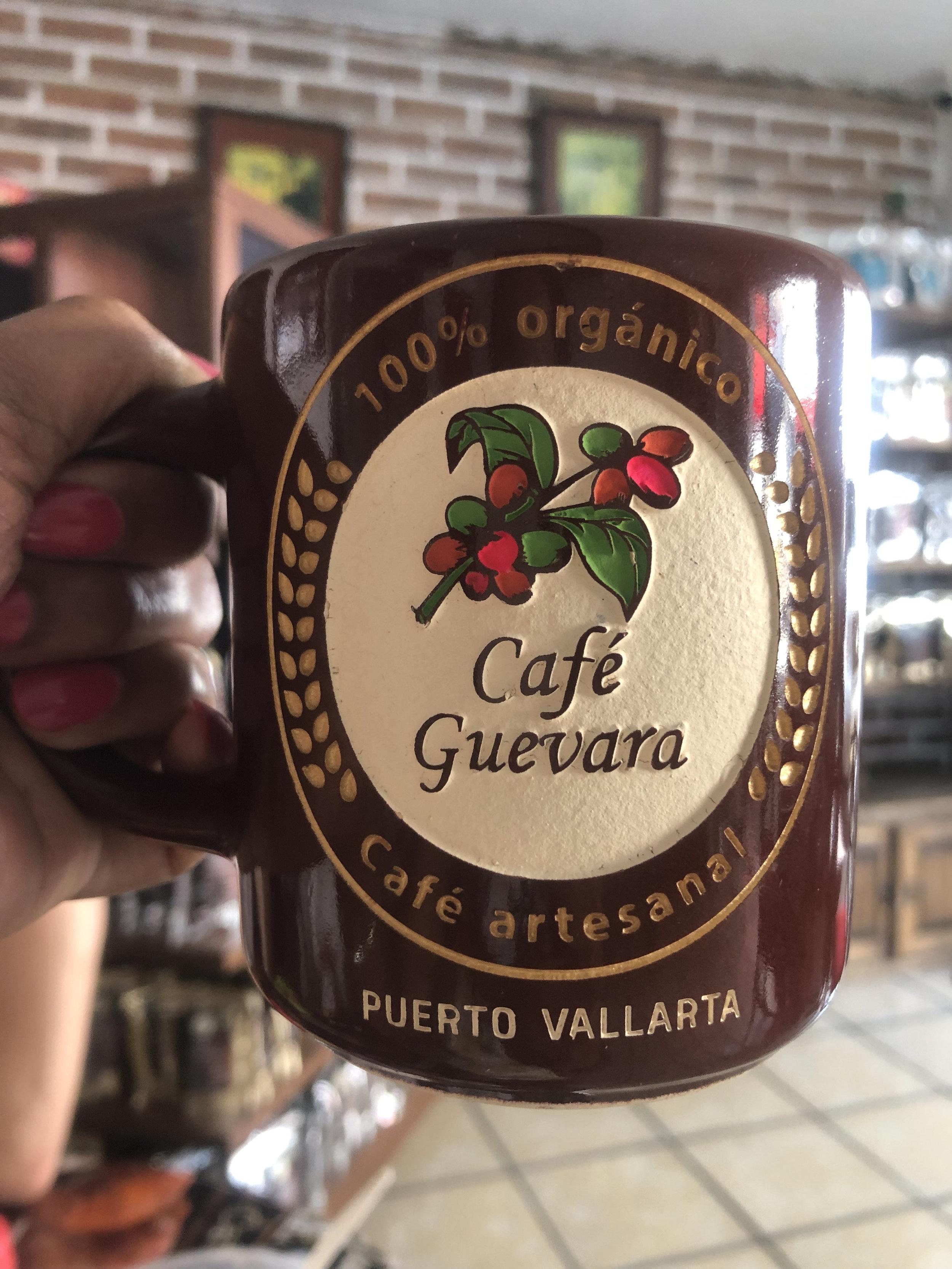 Photo: Cool mug at La Bodeguita Del Cafe