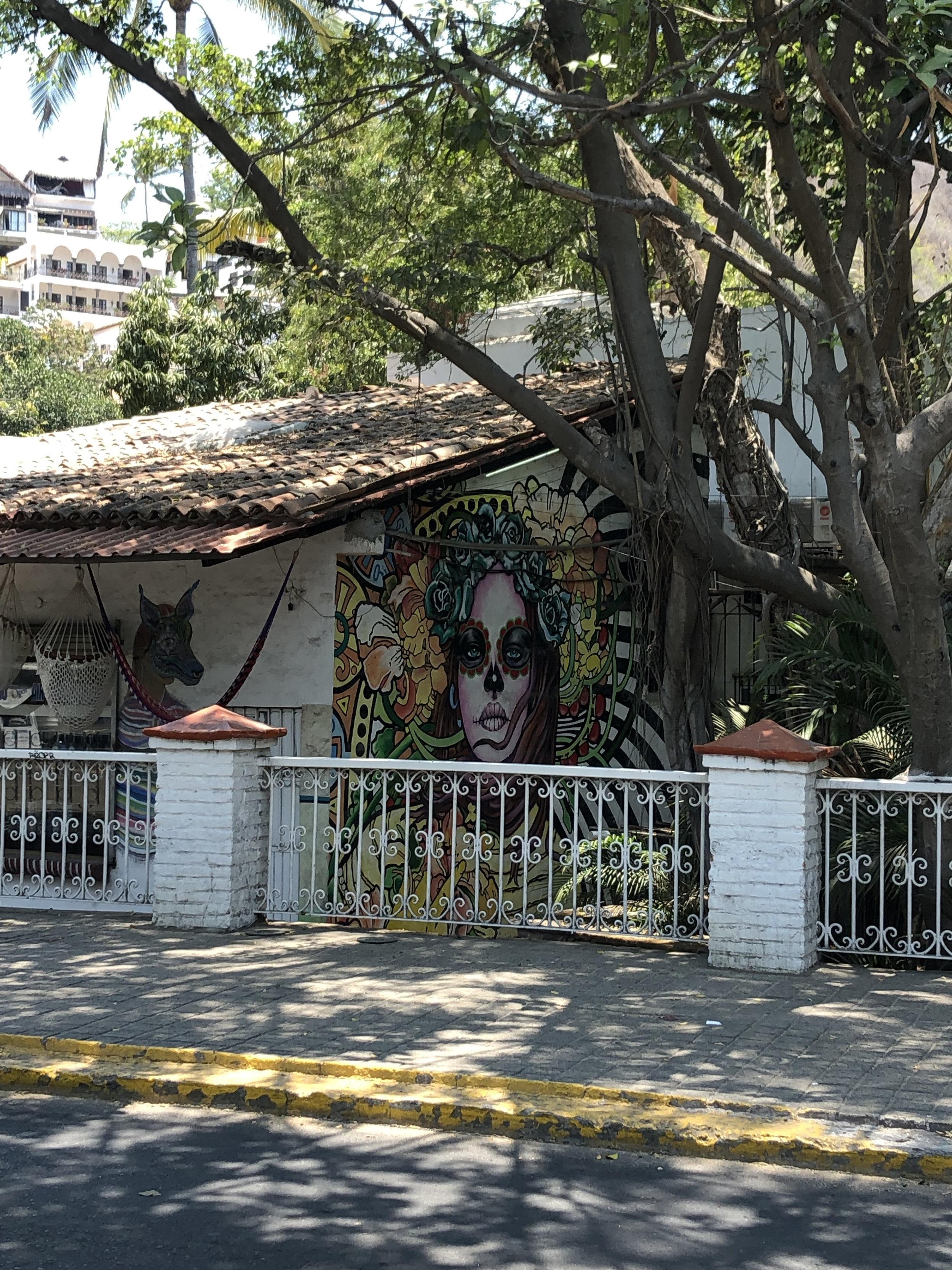 Photo: Street Art on the Brigde in El Centro