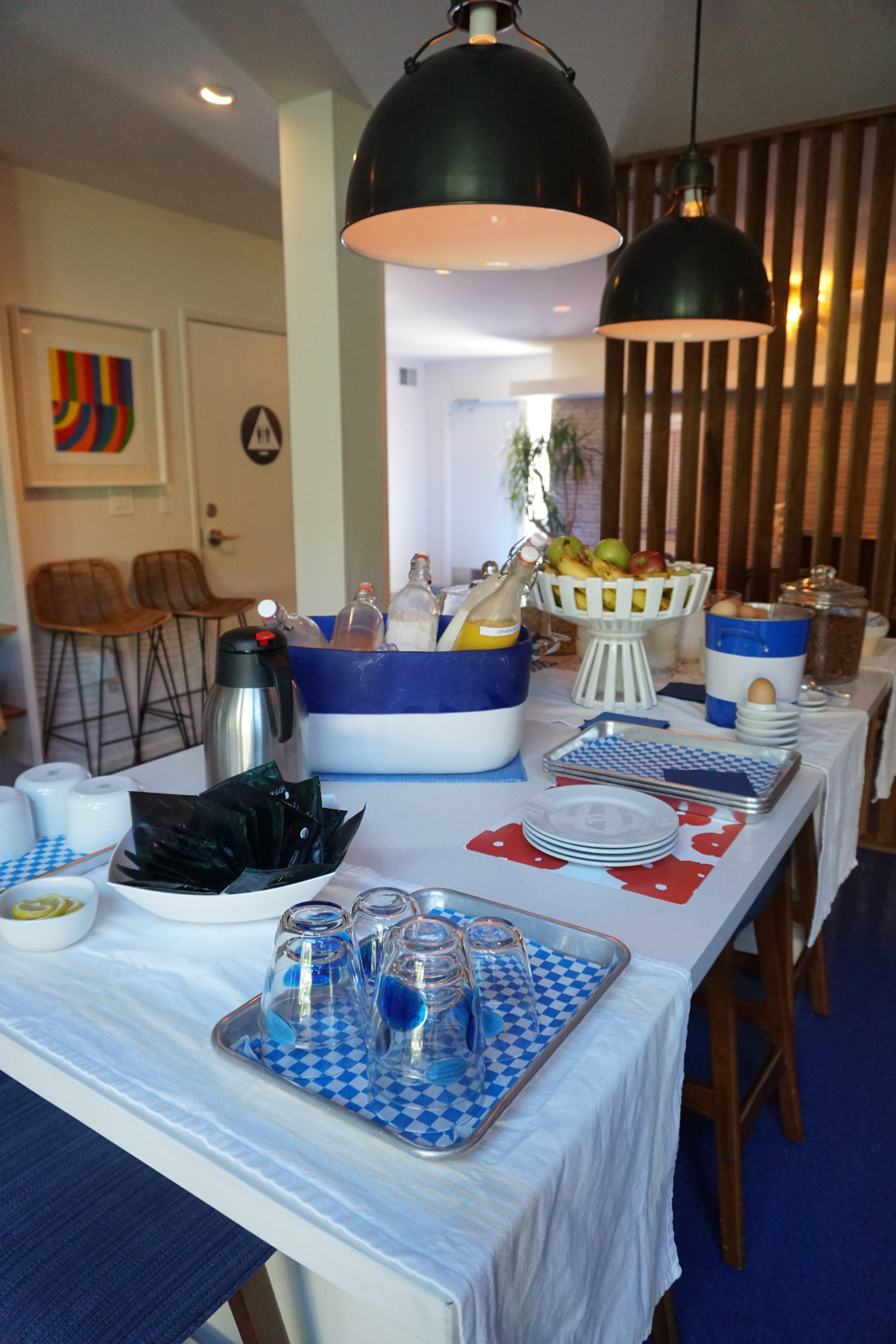 Photo: Free Breakfast Spread at Holiday House