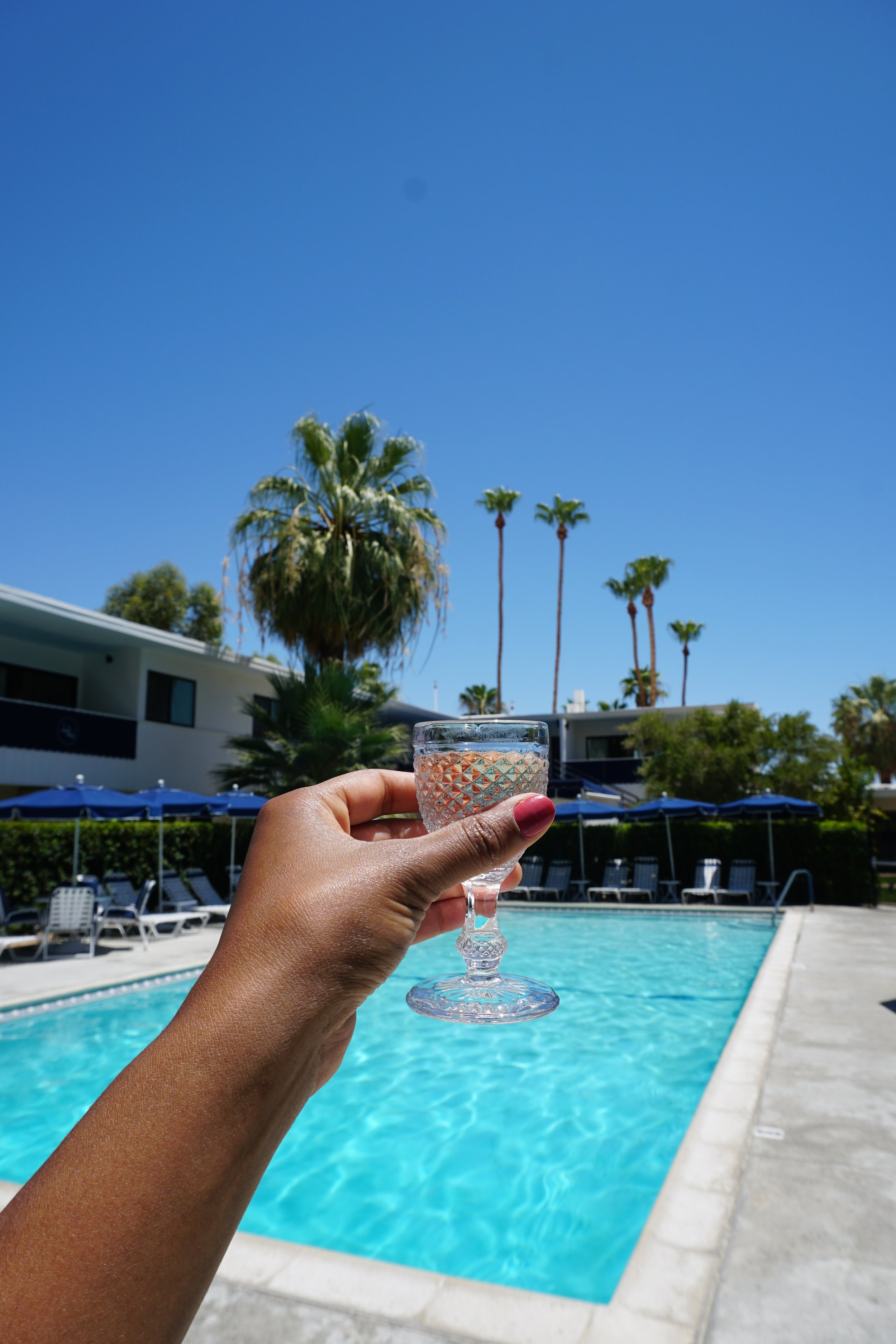 Photo: Complimentary Rose Poolside