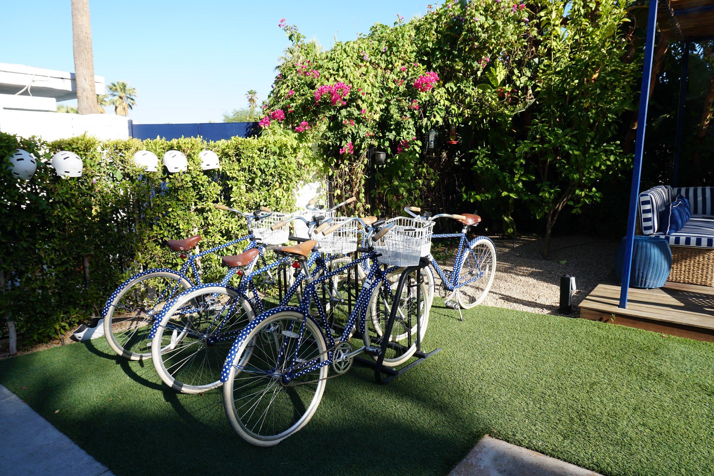 Photo: Complimentary Bike Rentals