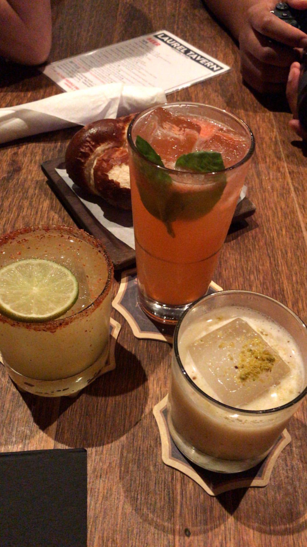 Drinks at Laurel Tavern