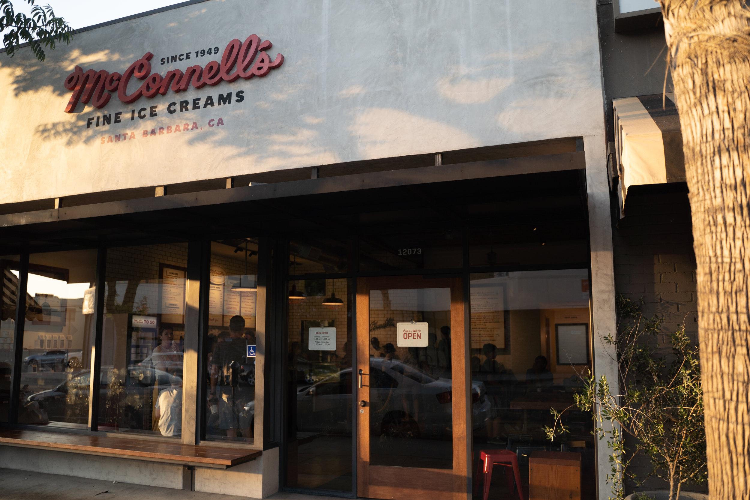 Exterior McConnell's Fine Ice Creams in Studio City