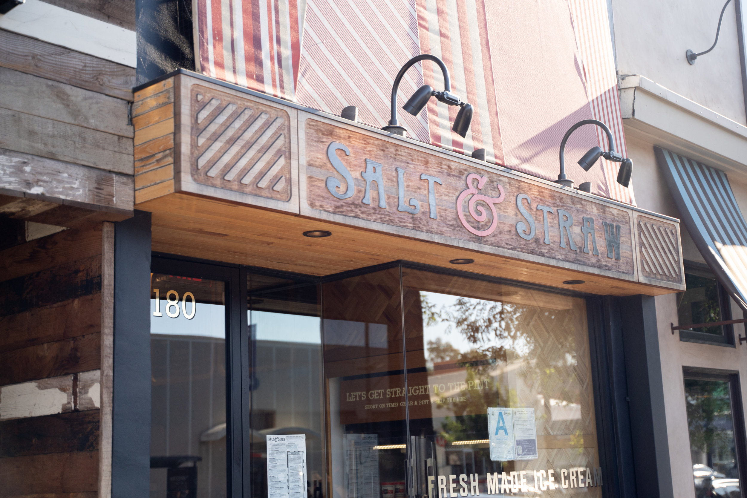 Exterior Salt and Straw in Studio City