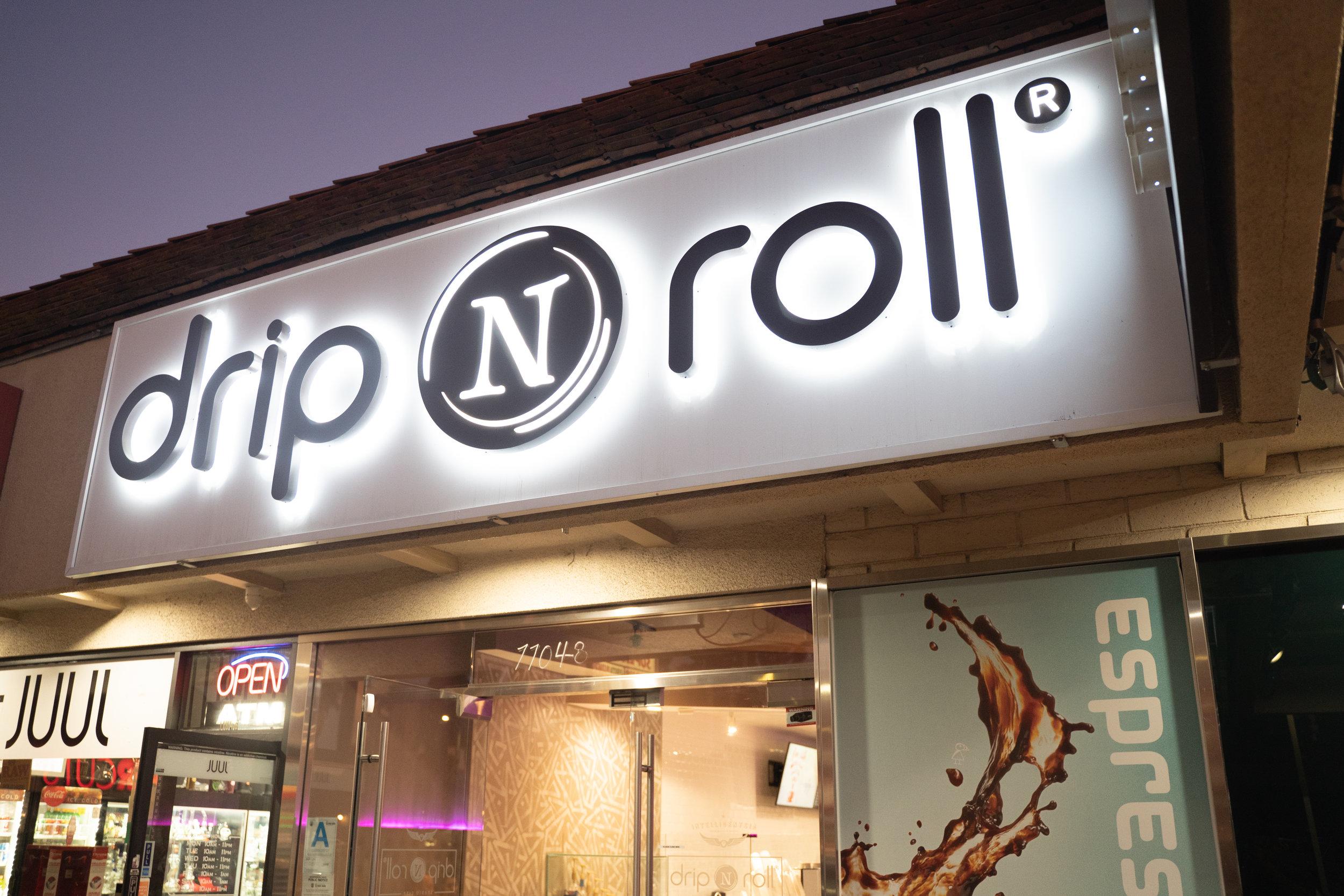 Exterior of Drip N Roll in Studio City