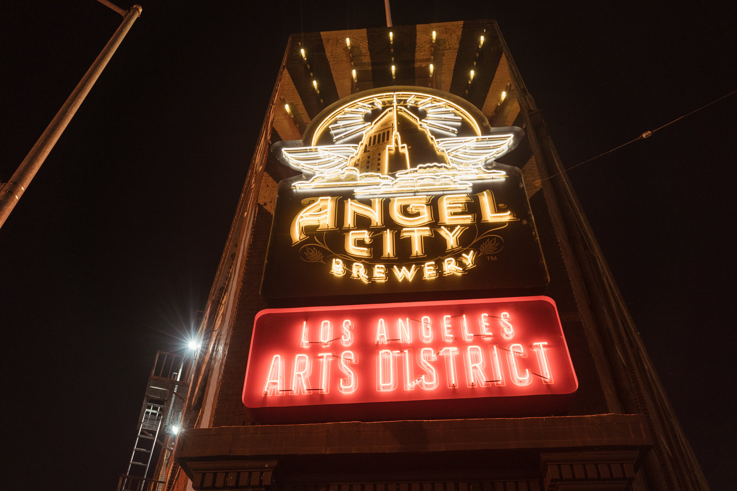 Angel City Brewery Sign