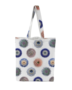 Flower Power Tote - Grid Multi