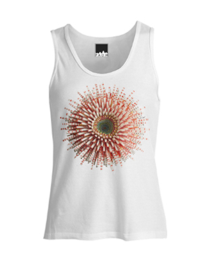 Flower Power Tank - Red