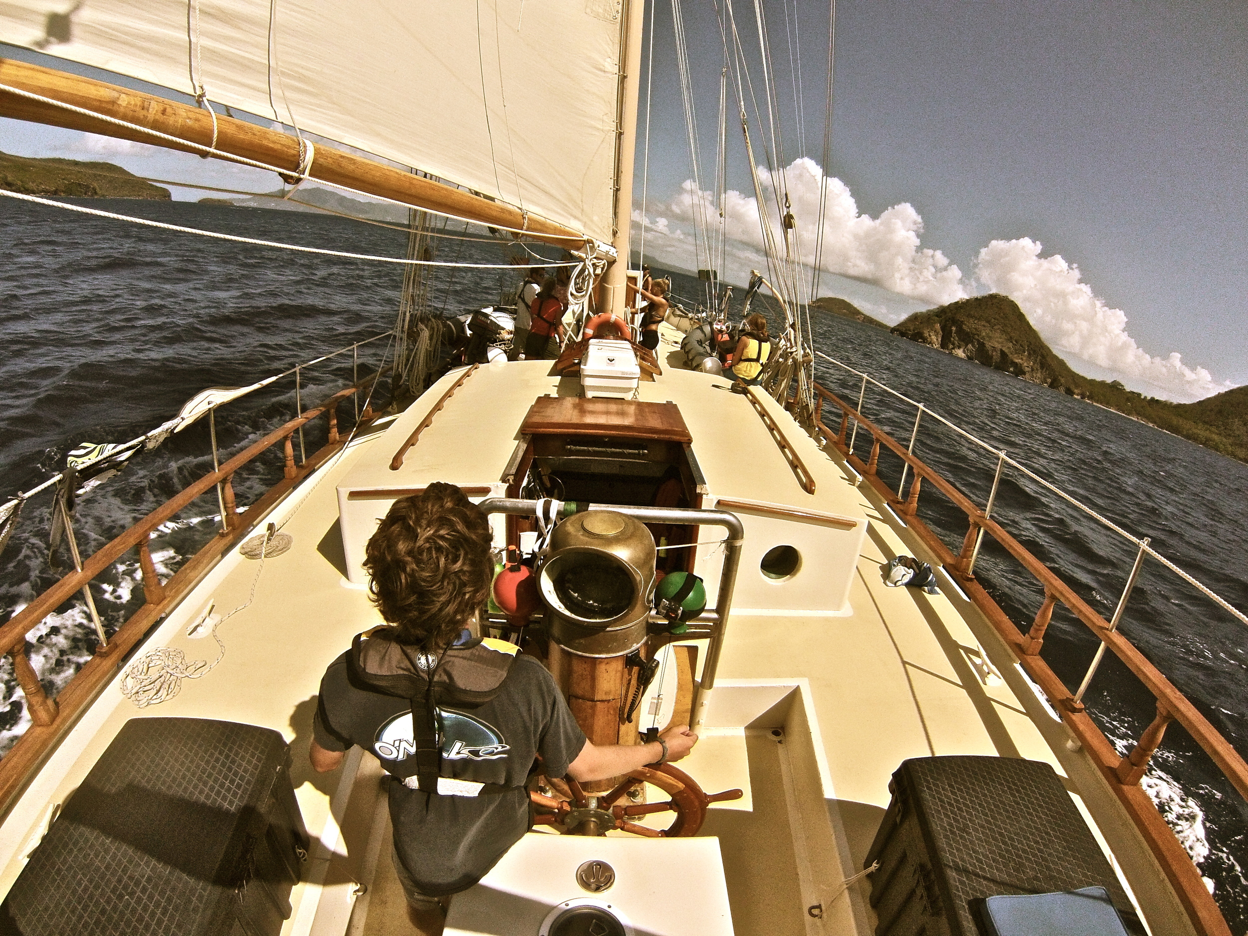 Sailing the Caribbean