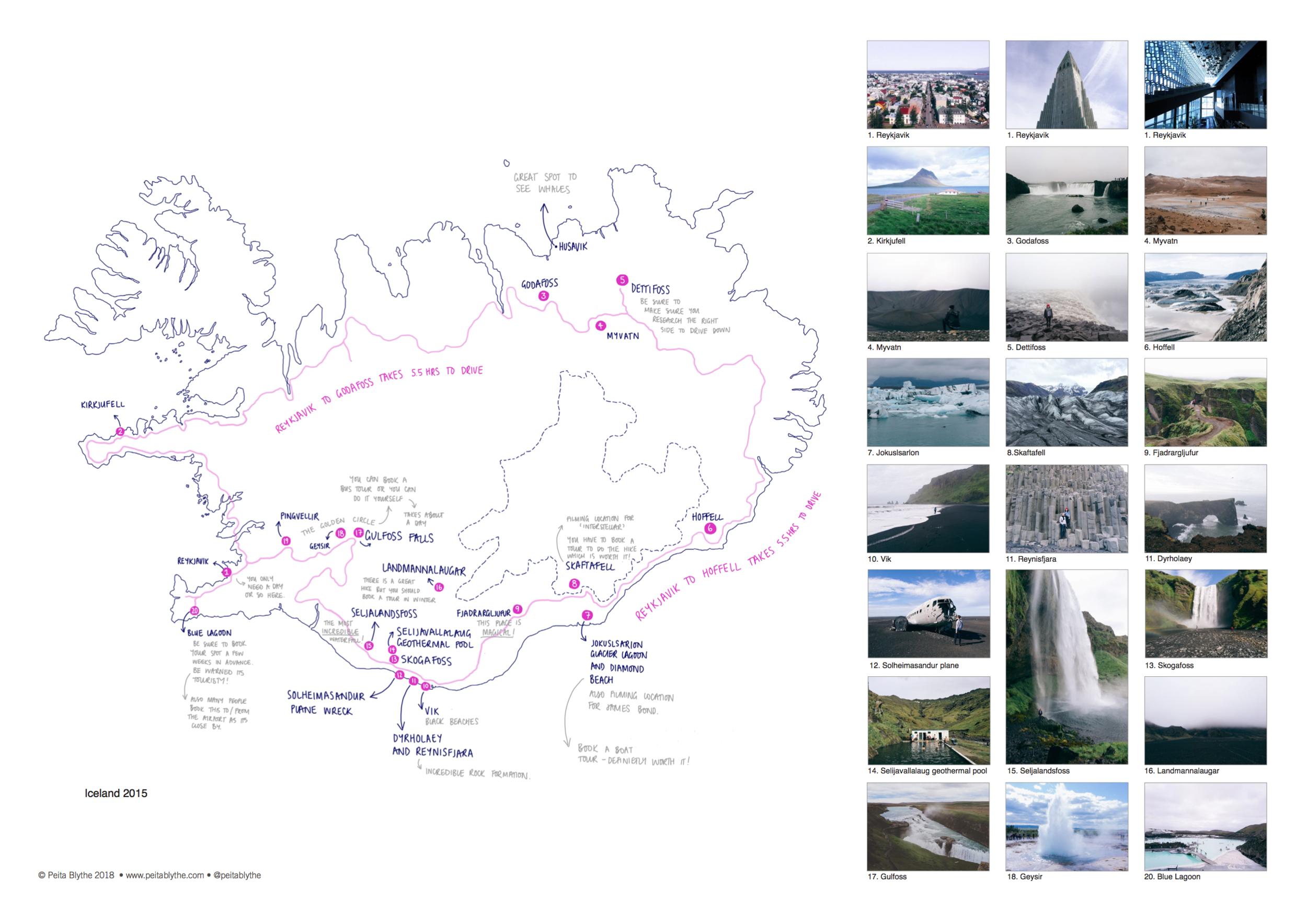 Iceland Map List — Peita Blythe on flag list, print list, queue list, shop list, food list, mexico states and capitals list, city list, faq list,