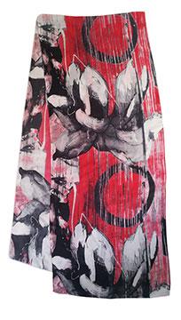 Hung Liu silk scarf