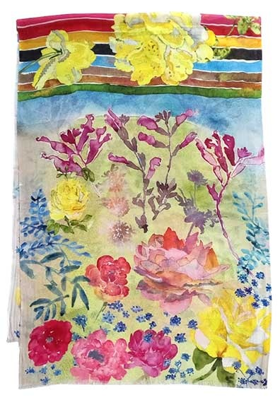 WC2. Watercolor Desert Flowers