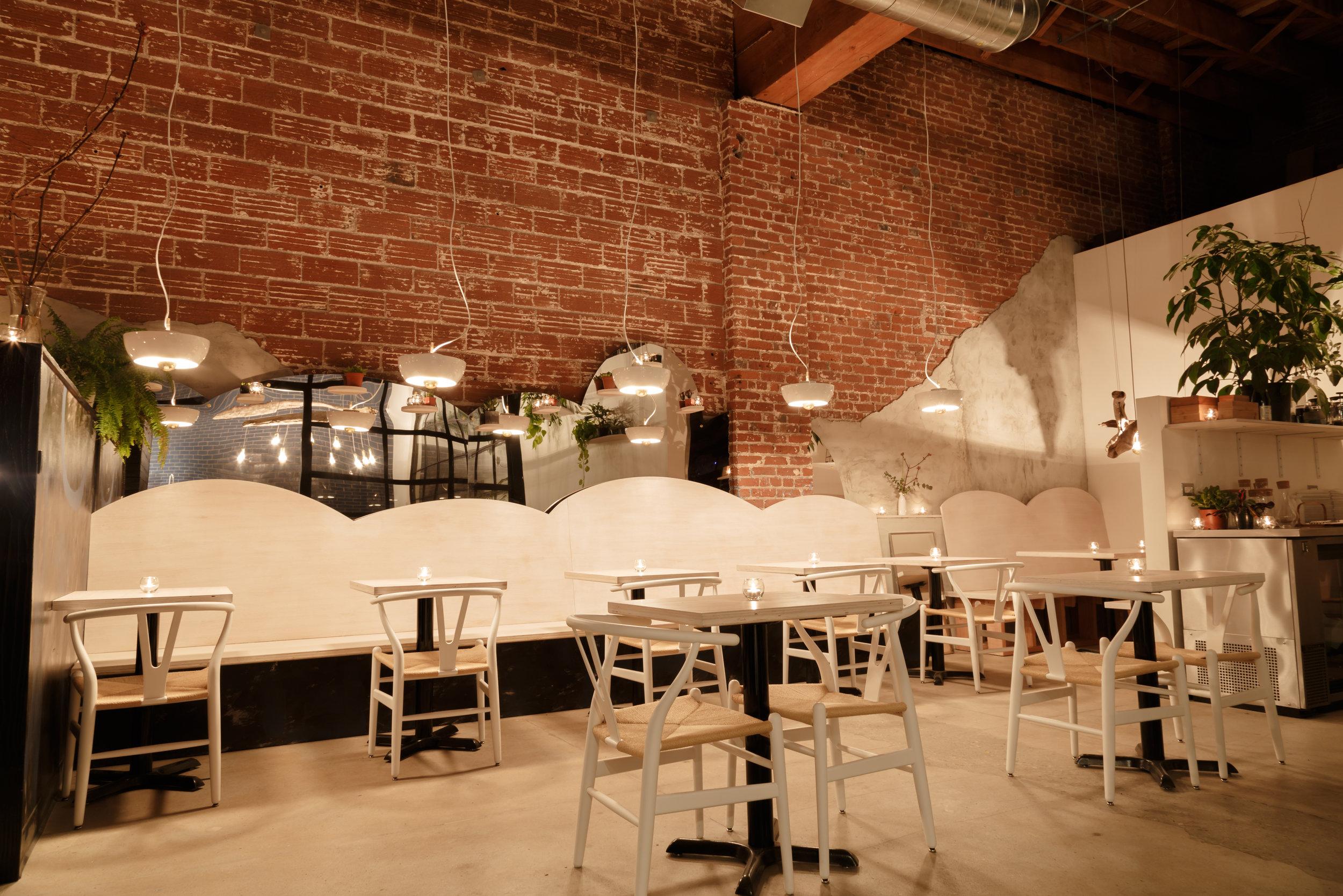 Nomad PDX, Restaurant — Portland, Oregon, USA.