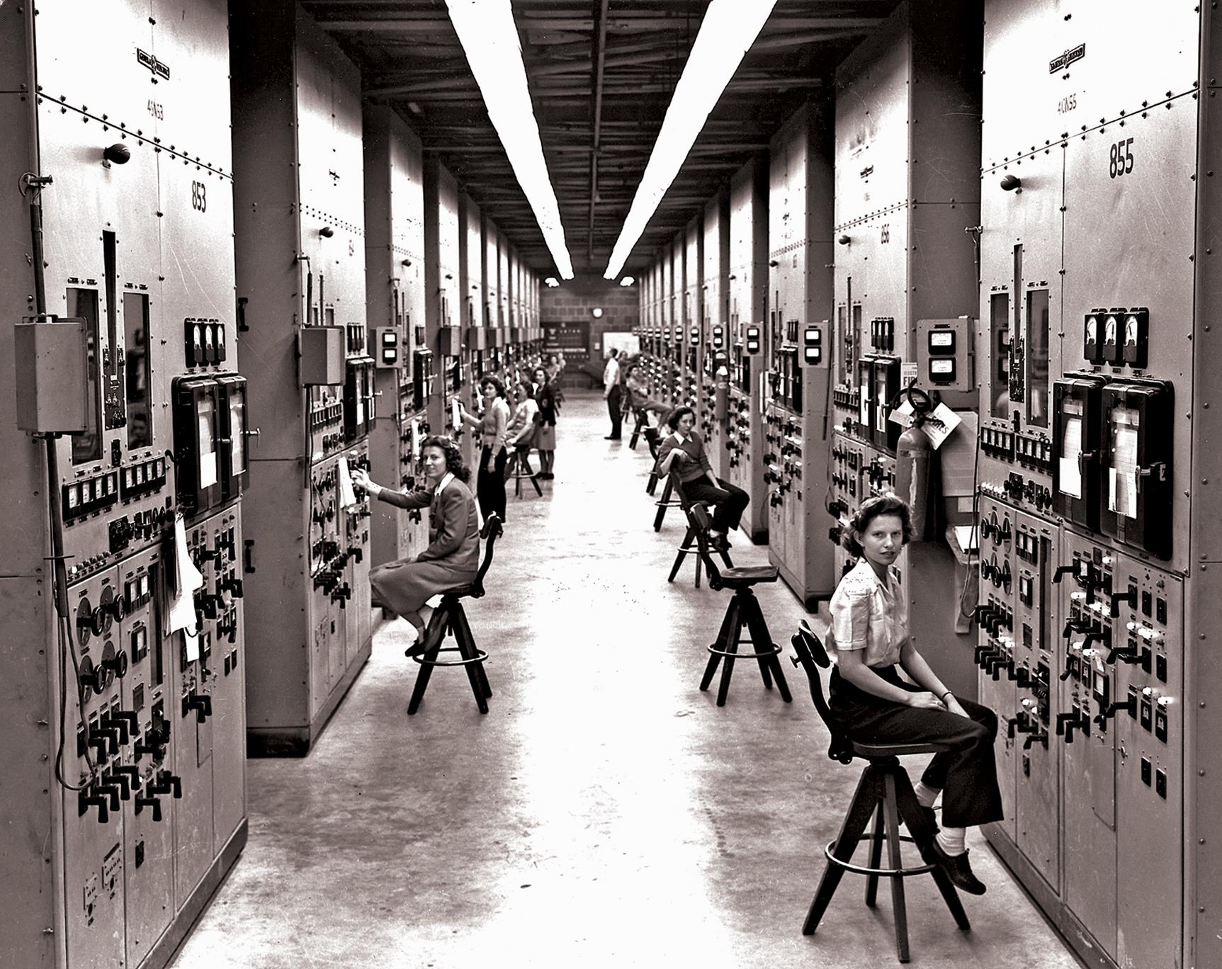 """The Calutron Girls,"" Oak Ridge, Tennessee, 1944"