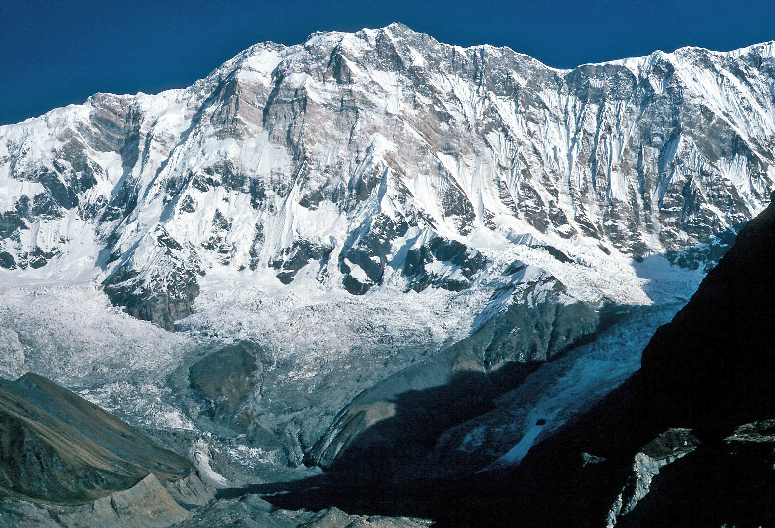 Recent Glacier Melt in the Inner Himalayas