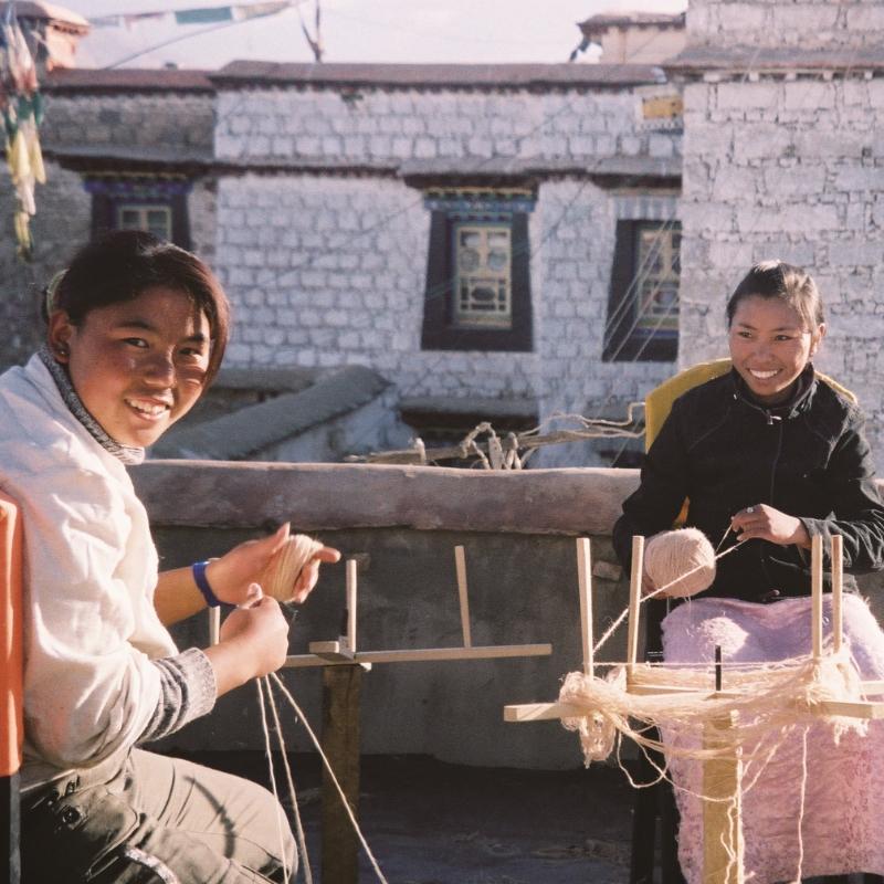 Tibetan Textile Revival