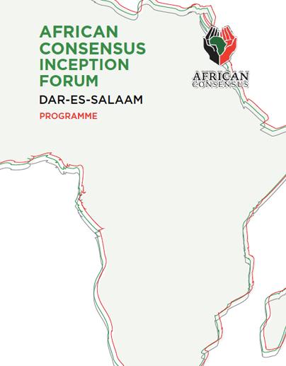 African Consensus Inception Forum