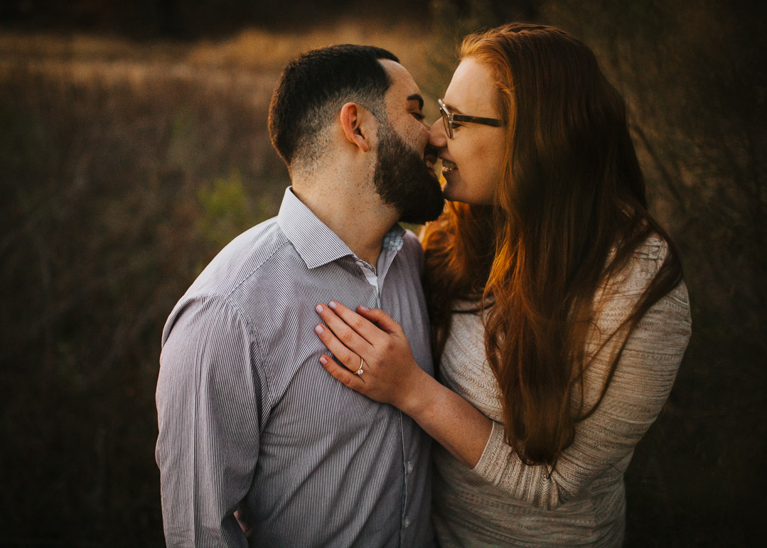 Another example of how sunset photography creates that warm soft lighting that couples love so much!