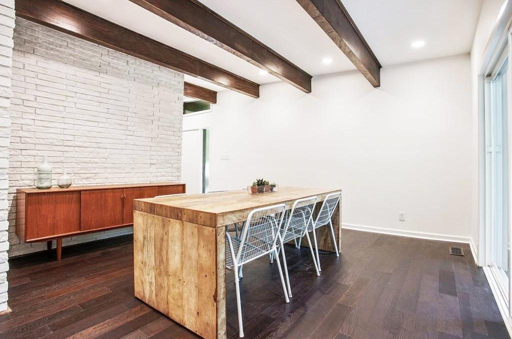 Mid Century Modern Dinning Room