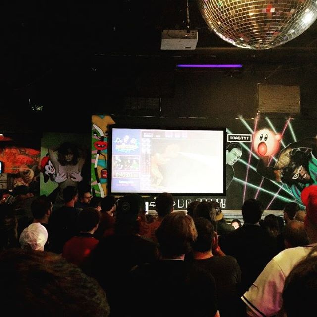 #speedrun sessions at Lucky's - some #snes classics and #romhack s