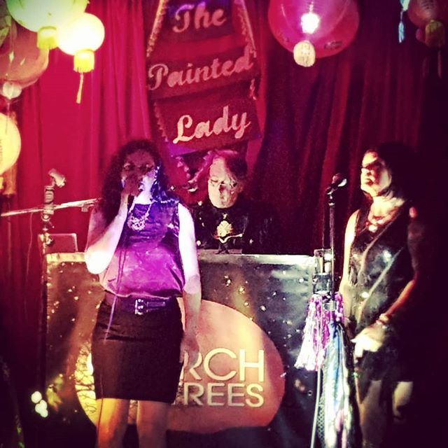 @church_of_trees  on stage at The Painted Lady! You should be here too! #music #livemusic #torontomusicscene #synthpop