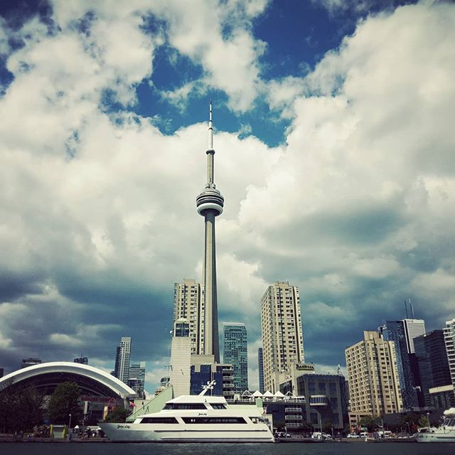 On the harbour. #boating #toronto #summer #lakeontario