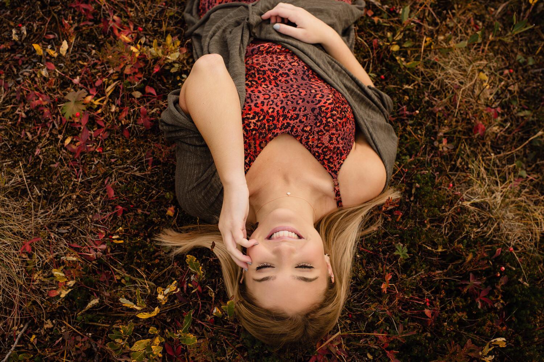 anchorage senior girl portrait