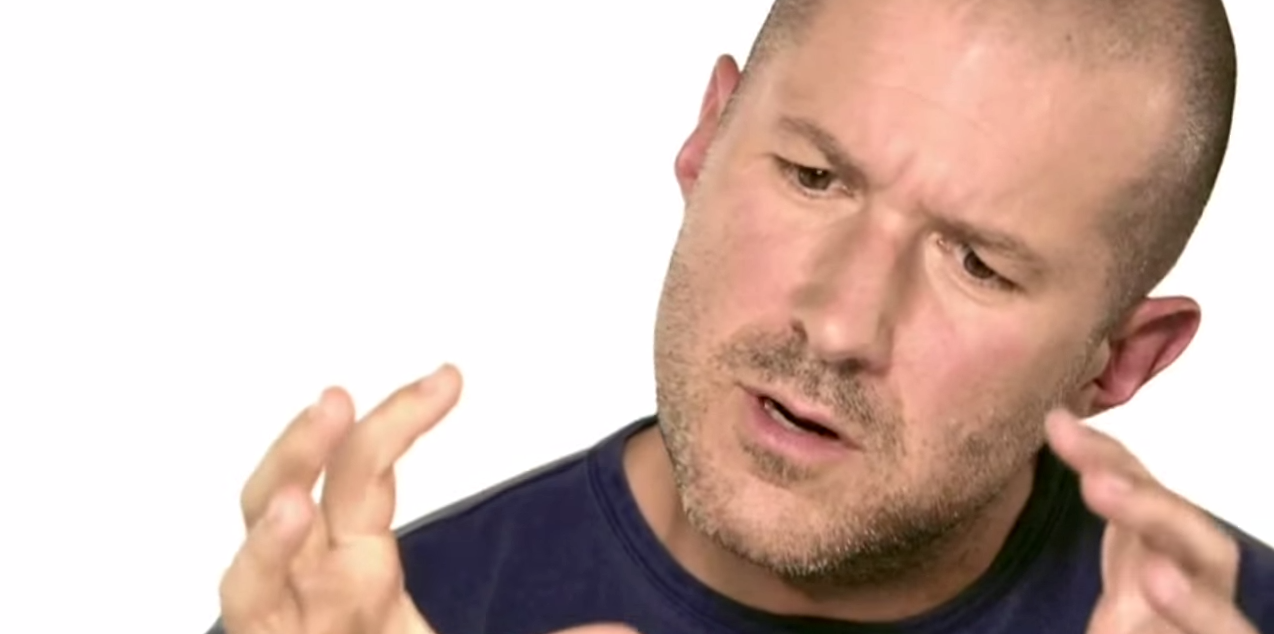 Jony Ive is the preeminent expert in artspeak. Here he is deeply engaged in it.