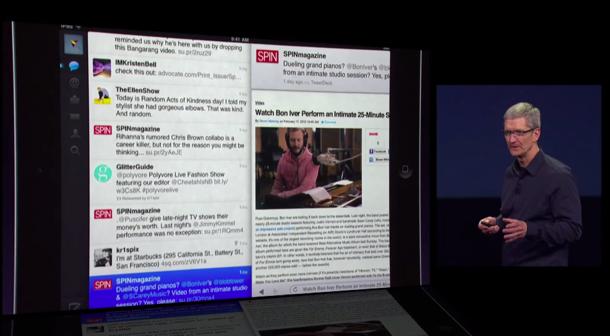 2012 Twitter on iPad.