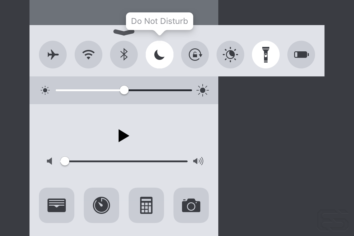 This was my proposed solution to the current ambiguity around placement of toggles and app shortcuts. Note that the flashlight has been placed in the toggle area and the app shortcut for the Wallet app has replaced it. Additionally, if no labels are to going to be on by default, then tooltips should display on press. Spillover toggles and apps that wouldn't fit in the screen area could be scrolled into view.