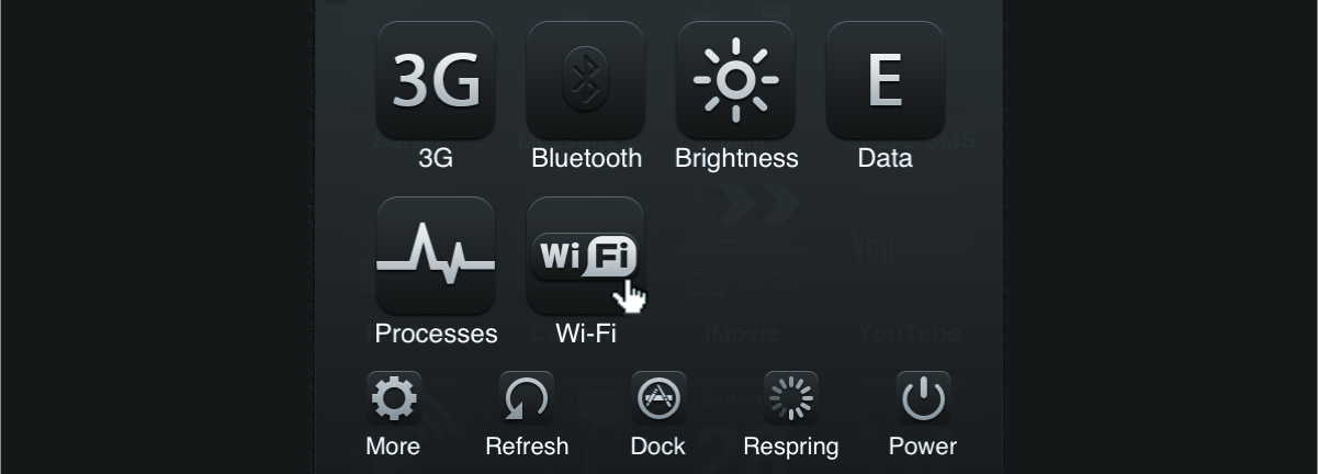 An SBSettings  theme by Jackie Tran from 2010.