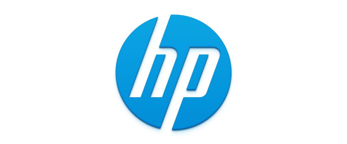 The previous HP logo.