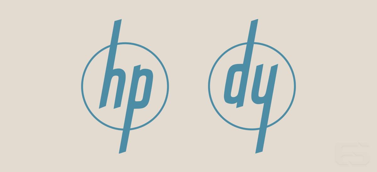 The HP and Dynac/Dymec logos.