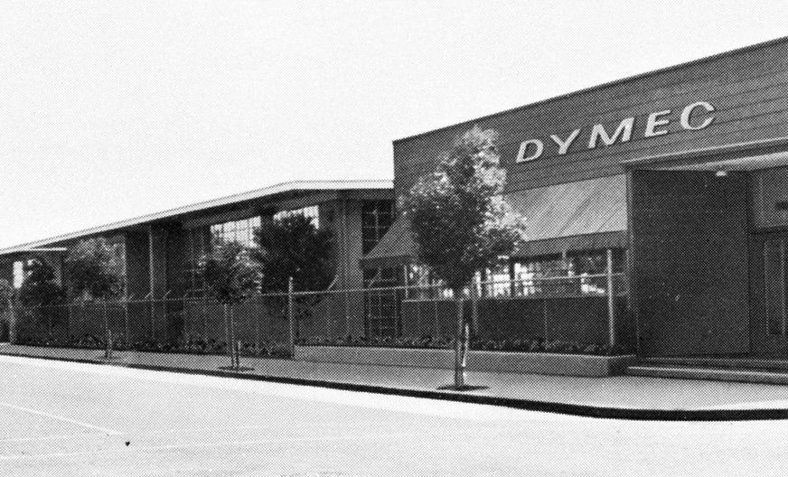 The Dymec Redwood building.