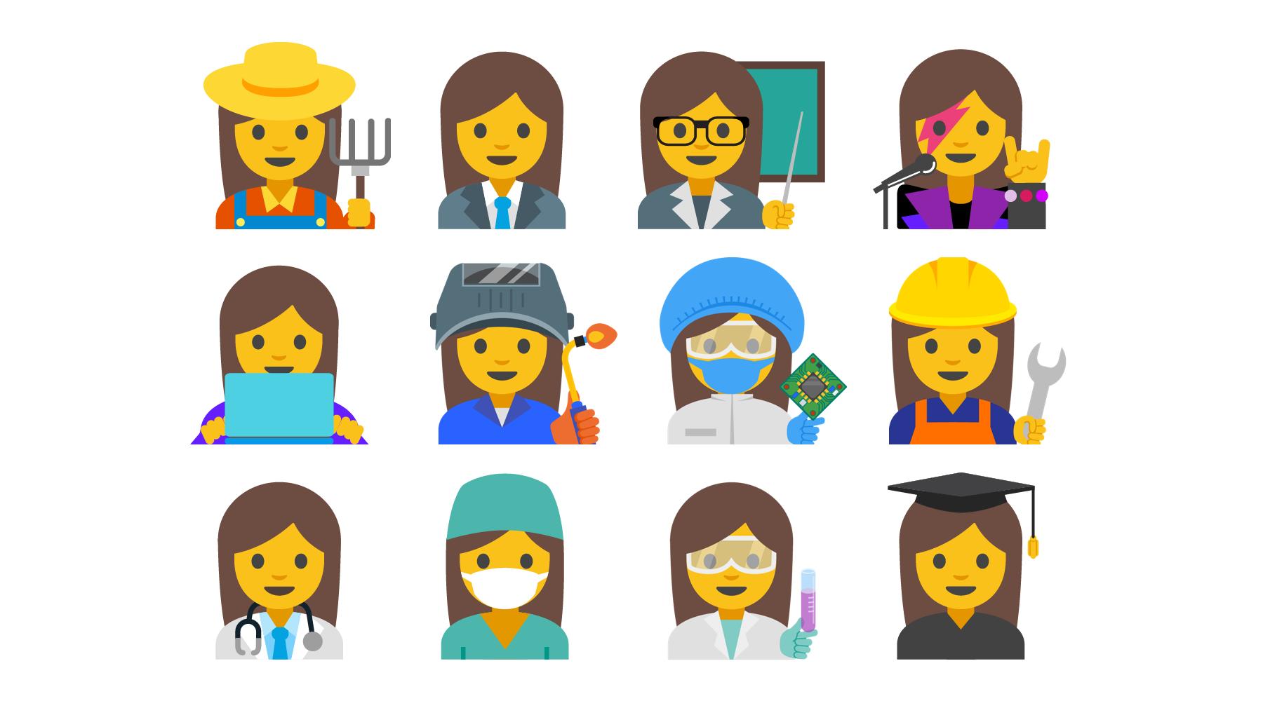 The proposed emoji update.