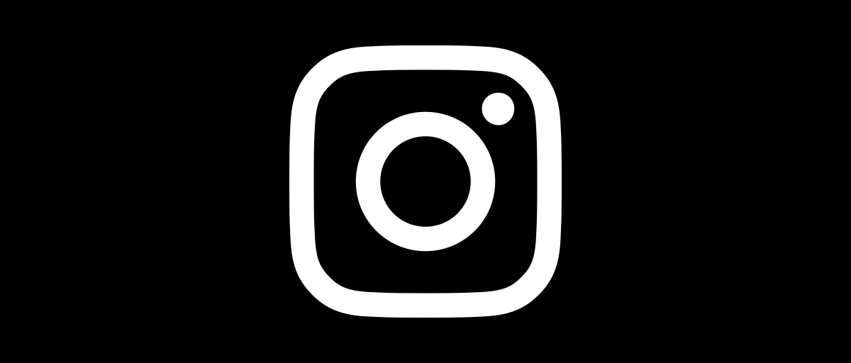 The new Instagram glyph.