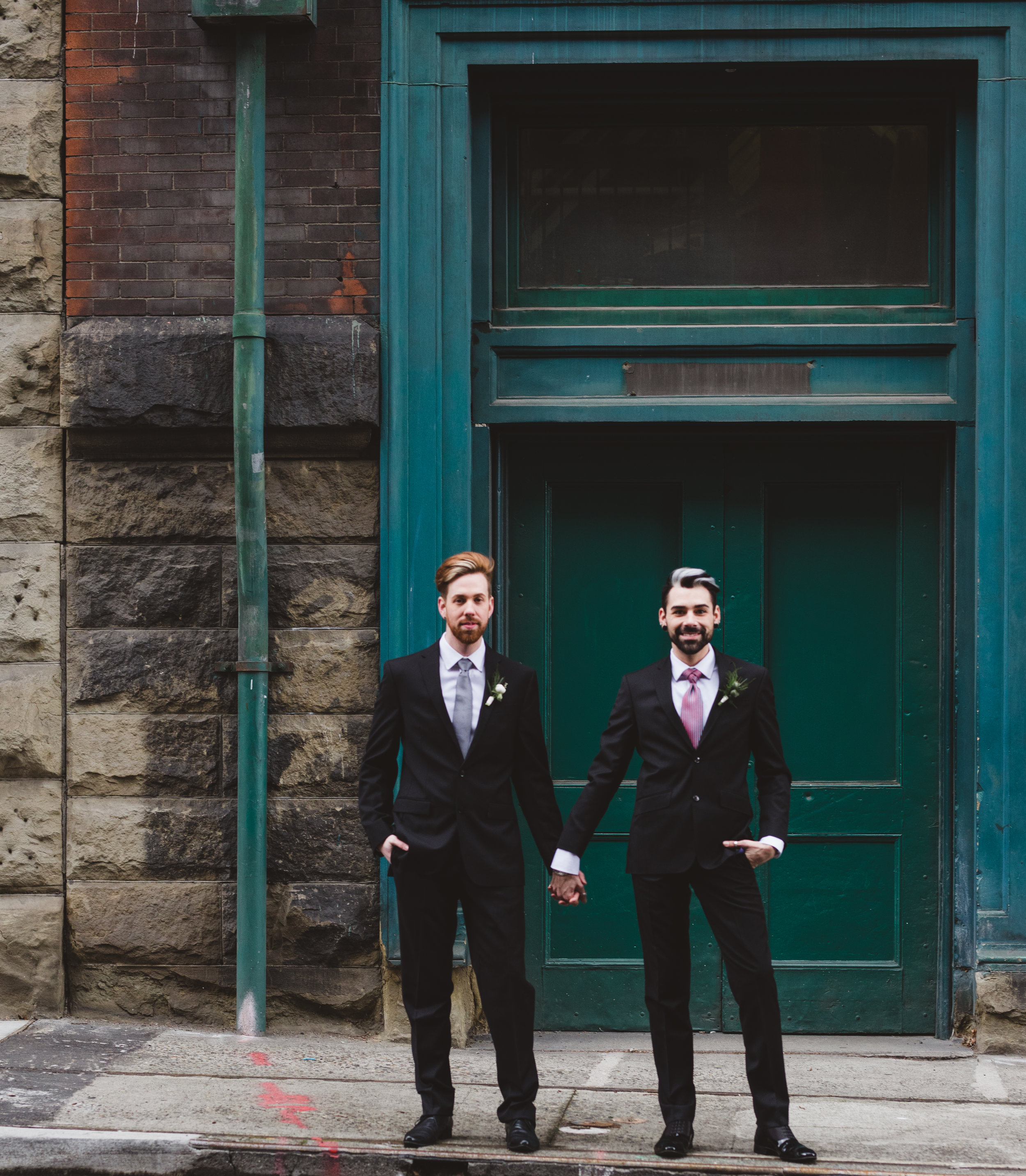 Sublime Stems | The Gathered Creatives | Bella Bella Momenti Photography | Dapper Couple | Seattle