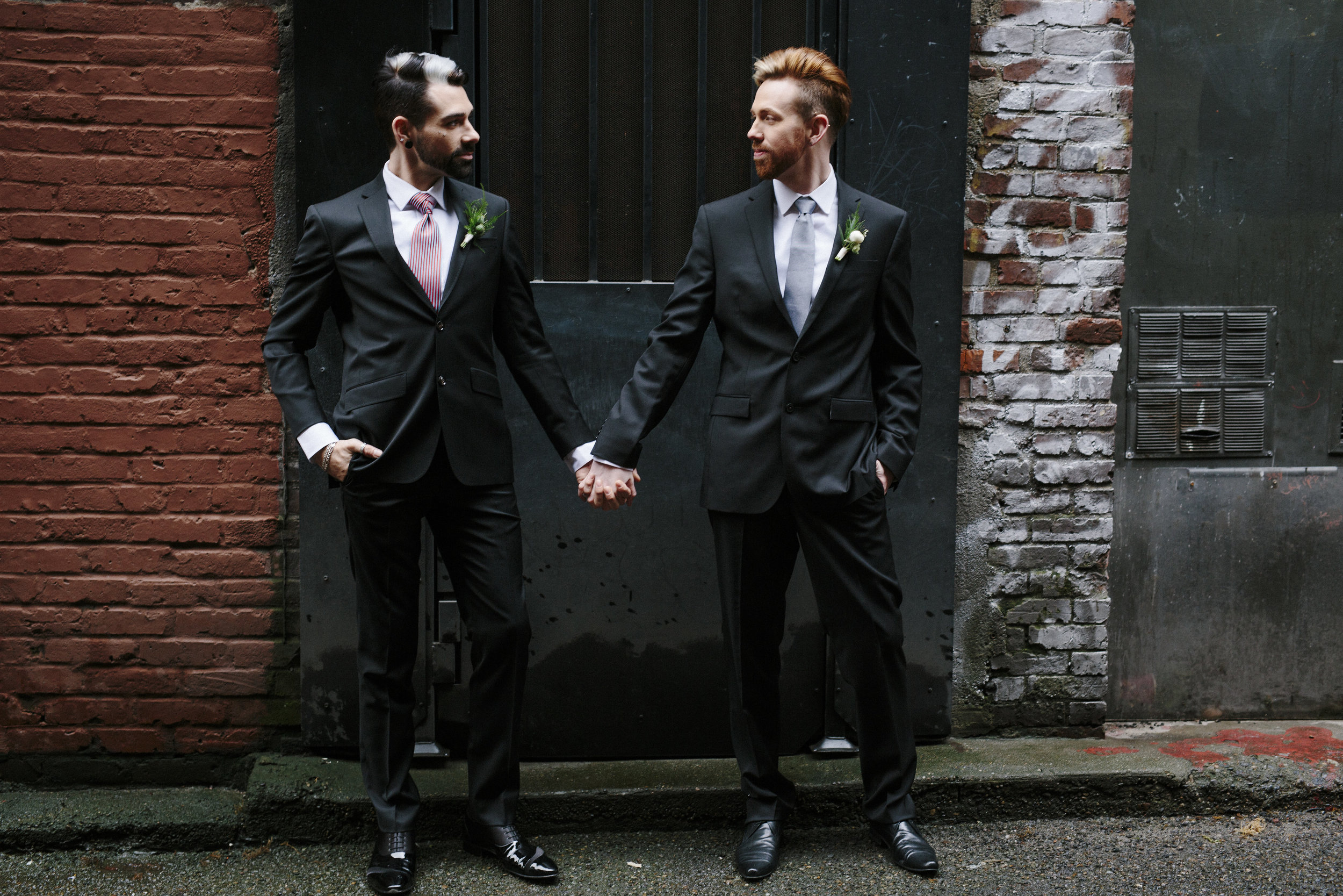 Sublime Stems | The Gathered Creatives | Dapper Couple | Seattle | Chelsea Bree Photography