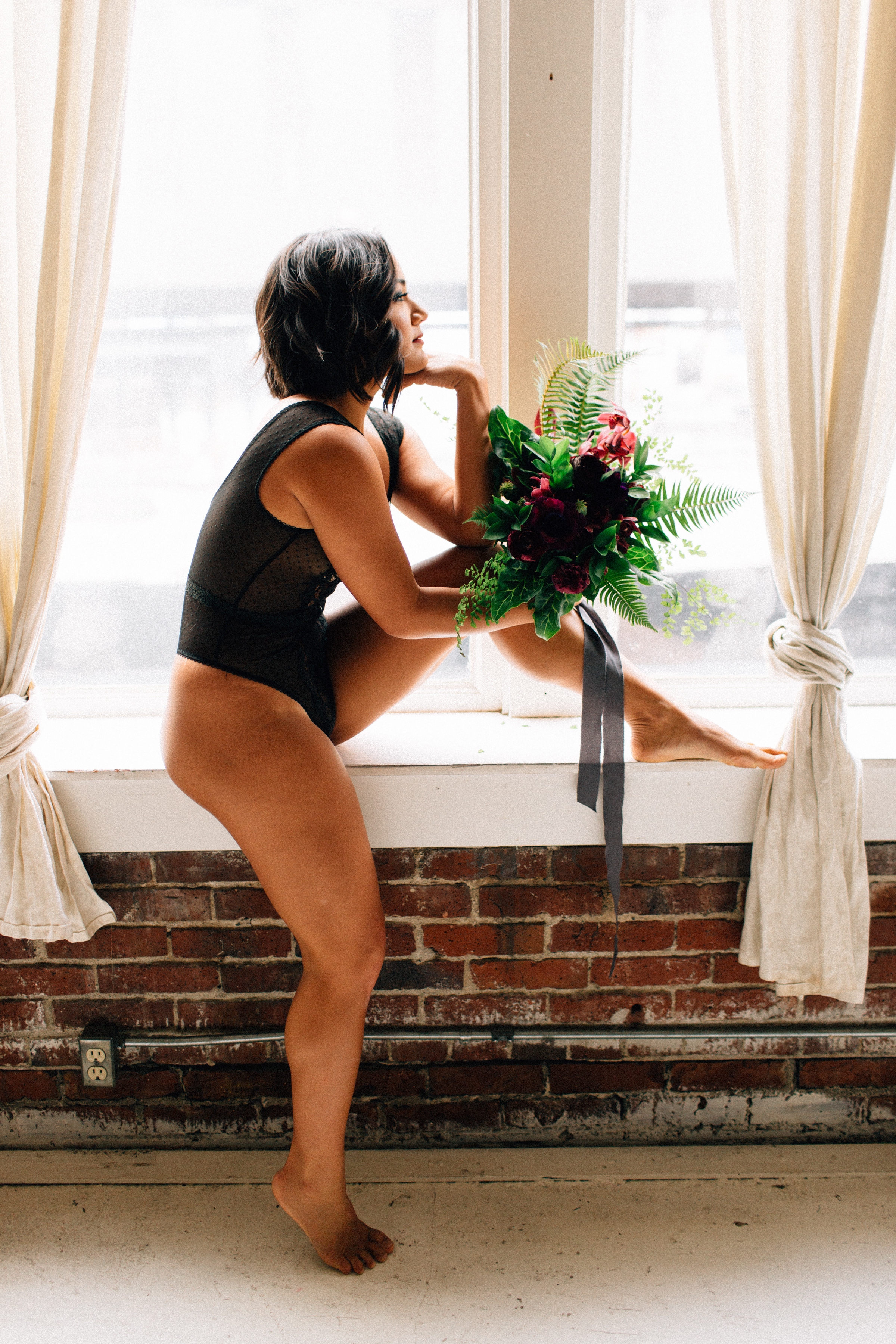 Sublime Stems | Boudoir | Kendall Lauren Photography | The Gathered Creatives | Seattle