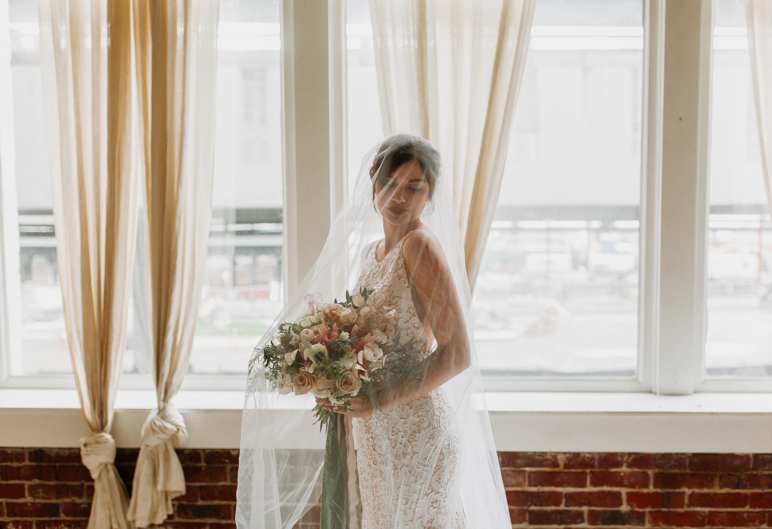 Sublime Stems | The Gathered Creatives | Seattle | Bridal | Malory Larson Photography