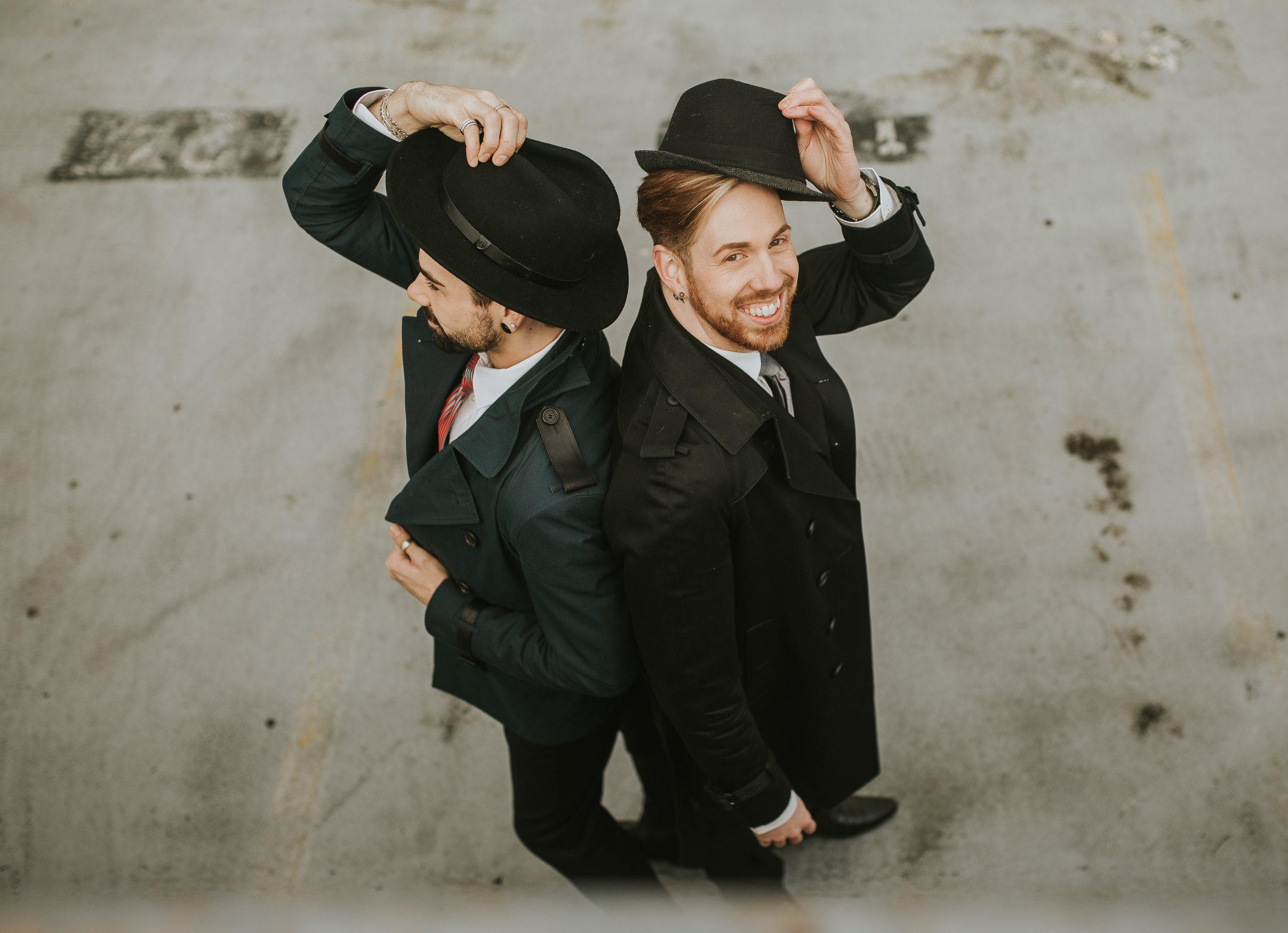 Sublime Stems | The Gathered Creatives | Seattle | Dapper Couple | Malory Larson Photography