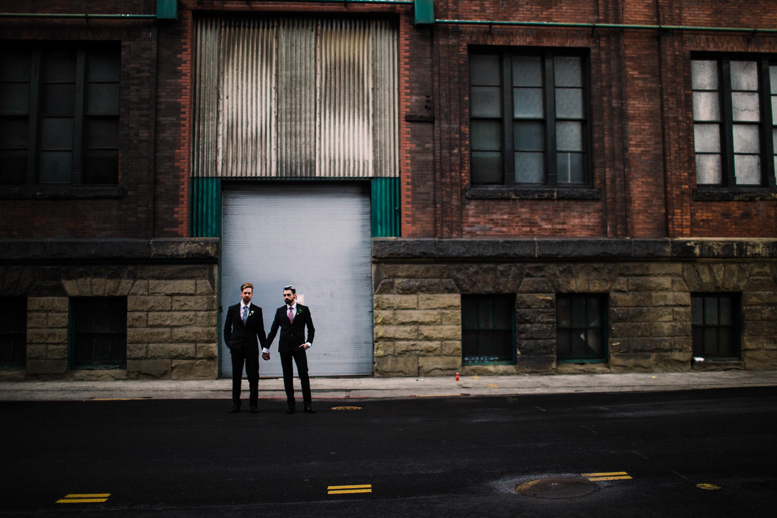 Sublime Stems | The Gathered Creatives | Seattle | Dapper Couple | Julia Kinnunen Photography