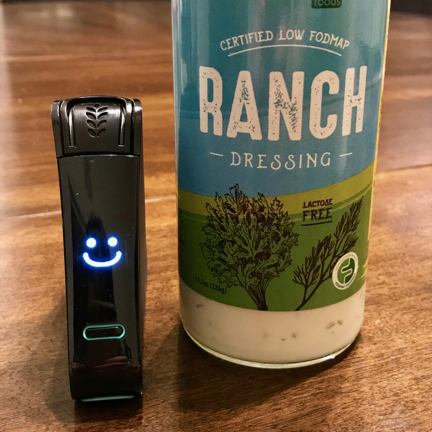 Live Free Foods Ranch Dressing NIMA Sensor Tested as Gluten Free