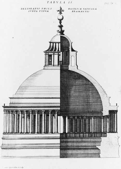 Bramante's Dome, St. Peter's Basilica, 1506